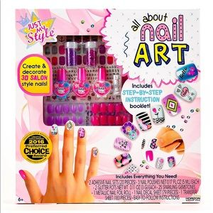 Manicure Salon Set for Kids
